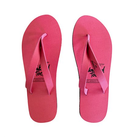 NakedToes flipflop slippers roze