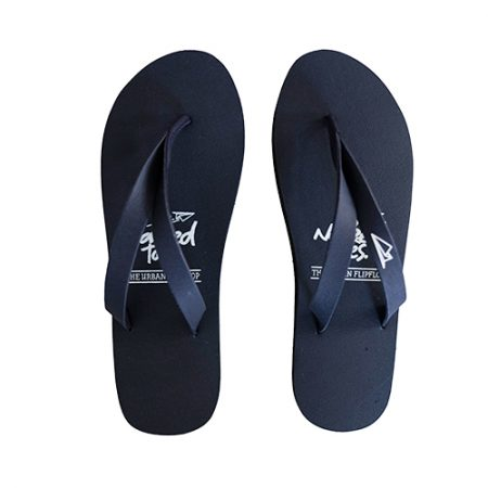 NakedToes flipflops slippers navy blauw