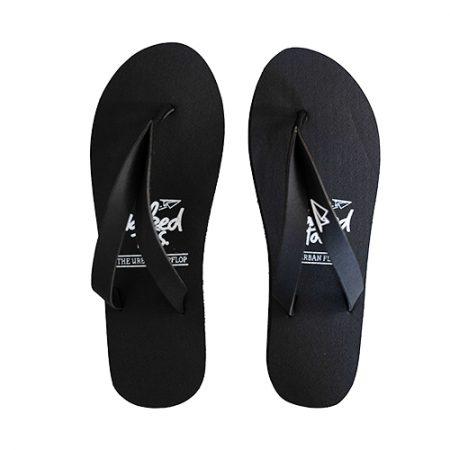 NakedToes flipflops slippers zwart vrouwen